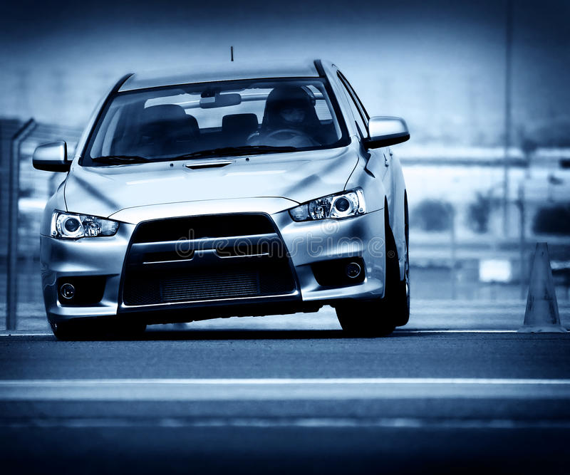 Download Sport car stock photo. Image of acceleration, motor, front - 17825276