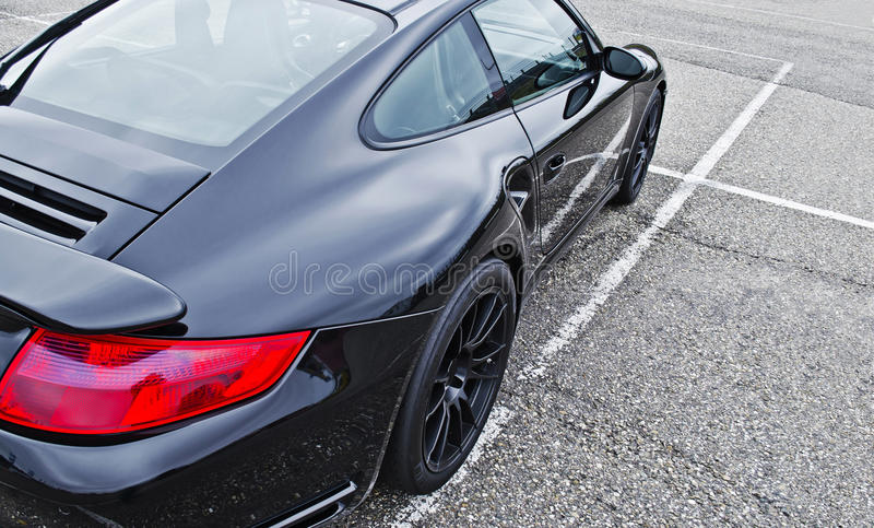 Sport car royalty free stock photo