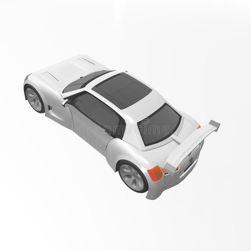 Download Sport car stock illustration. Image of generated, computer - 30592493