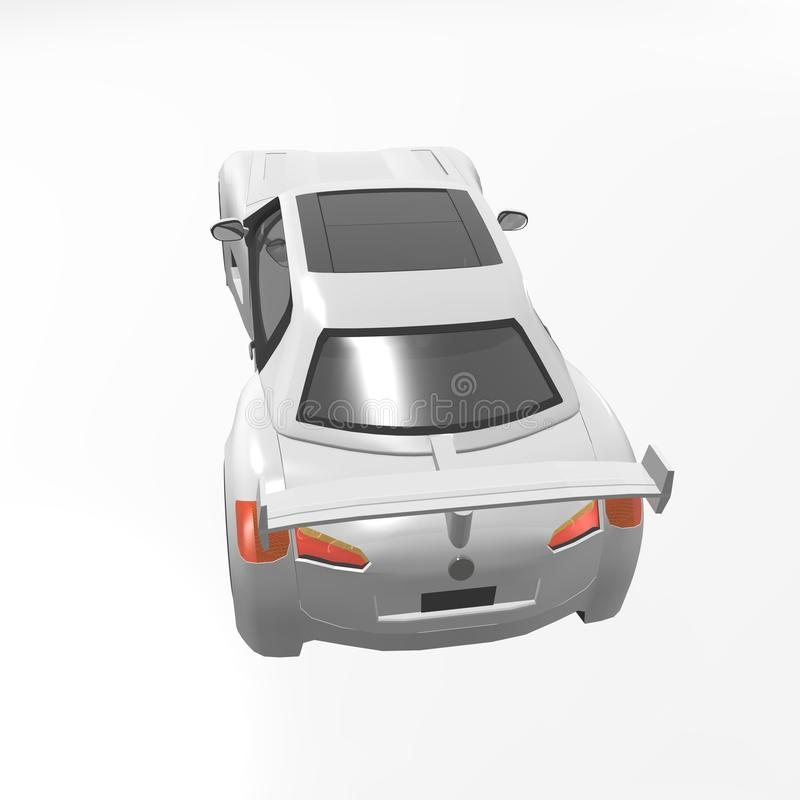 Download Sport car stock illustration. Image of reflection, move - 30592495