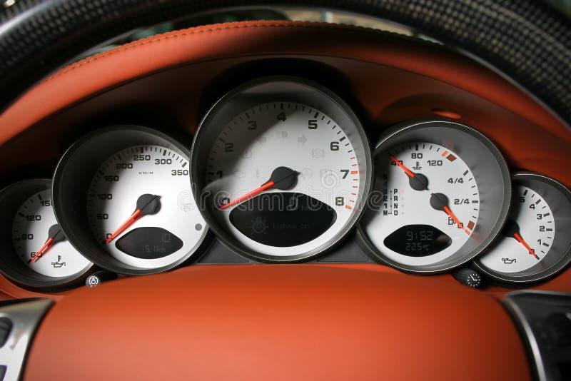 Sport car dashboard