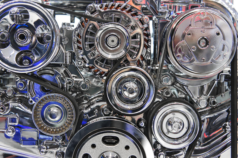 Sport car engine stock image. Image of custom, clutch - 51507849