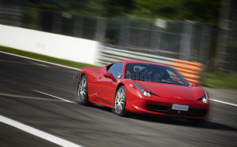 Sport car royalty free stock image