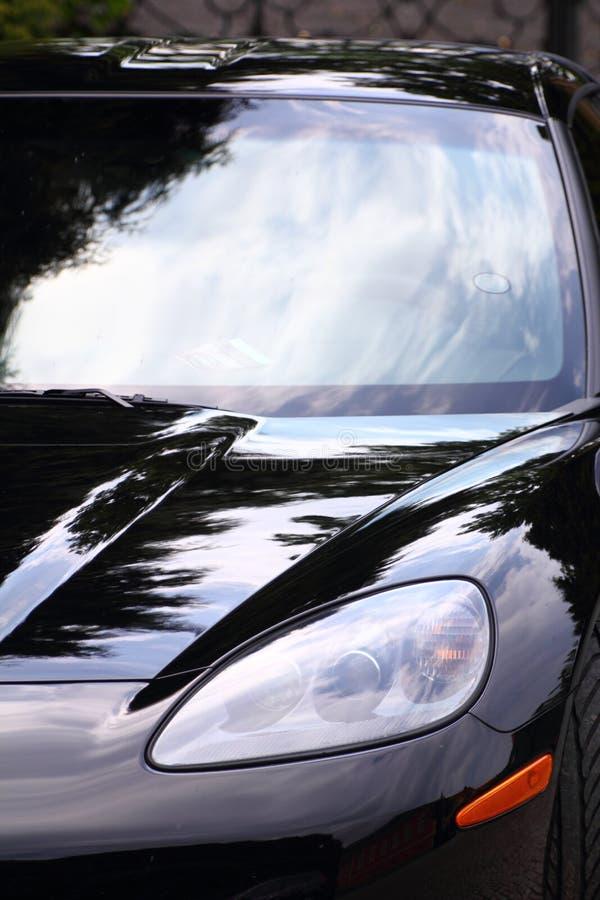 Sport Car Headlight Royalty Free Stock Photography