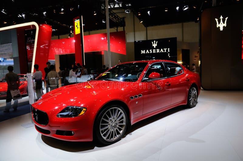 Sport car from Maserati royalty free stock image