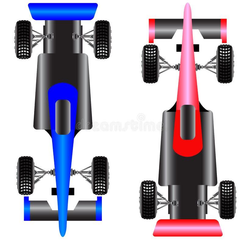 Download Sport car scheme top view. stock vector. Illustration of aerodynamics - 25844414