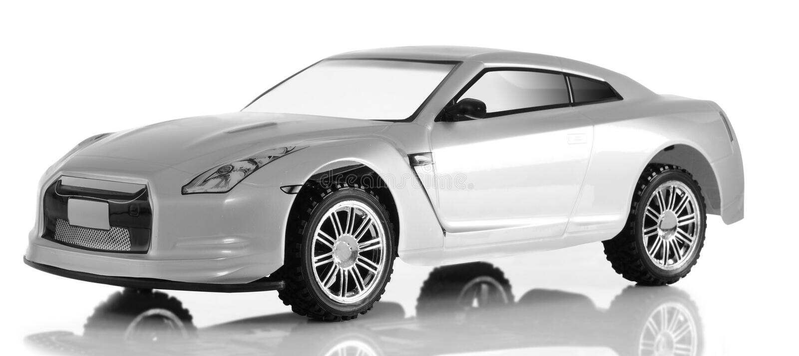 Download Sport car toy. stock image. Image of small, gray, white - 16897651