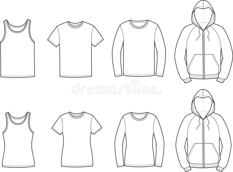 sport clothes stock vector  illustration of apparel  size