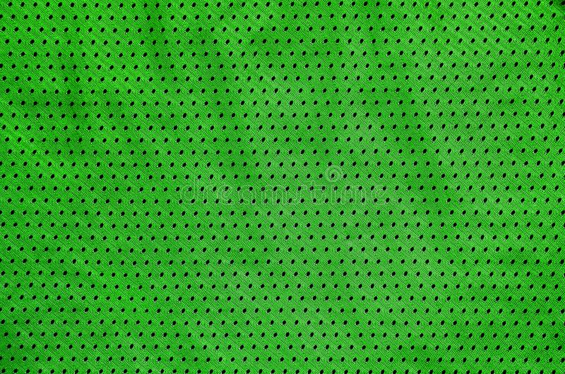 Sport Clothing Fabric Texture Background. Top View of Cloth Textile Surface. Colored Basketball Shirt with Text Spac. E royalty free stock photo