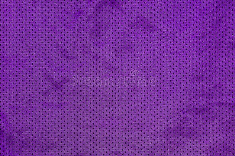 Sport Clothing Fabric Texture Background. Top View of Cloth Textile Surface. Colored Basketball Shirt with Text Spac. E stock image