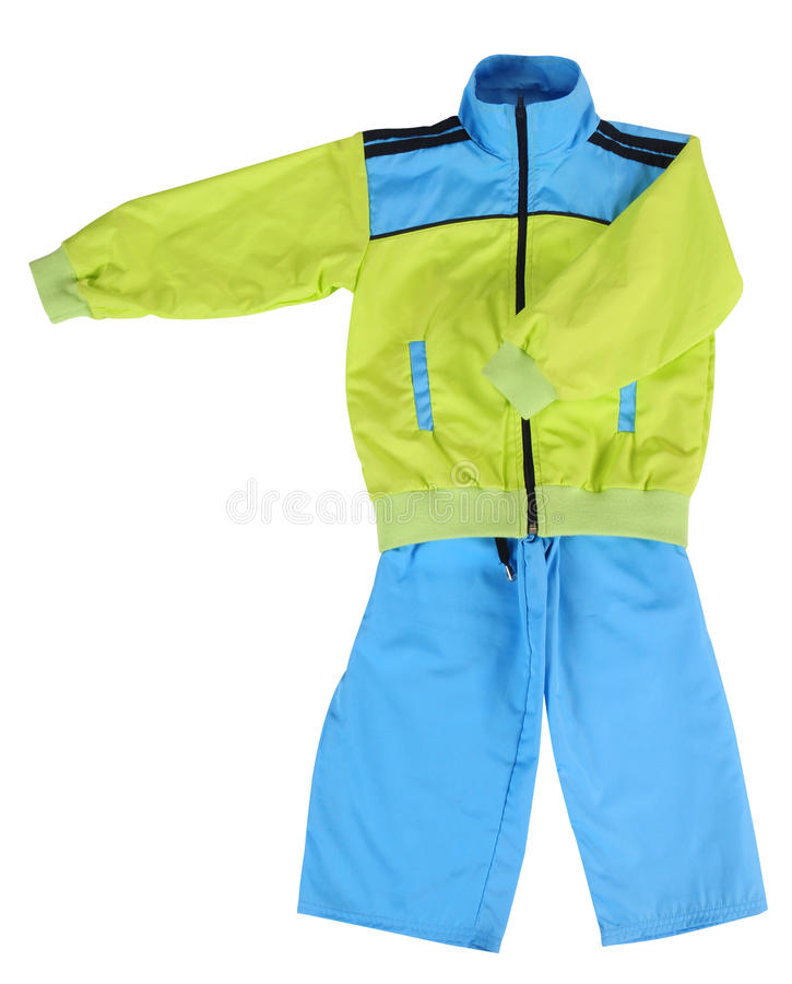 Sport clothing. Isolated stock photography