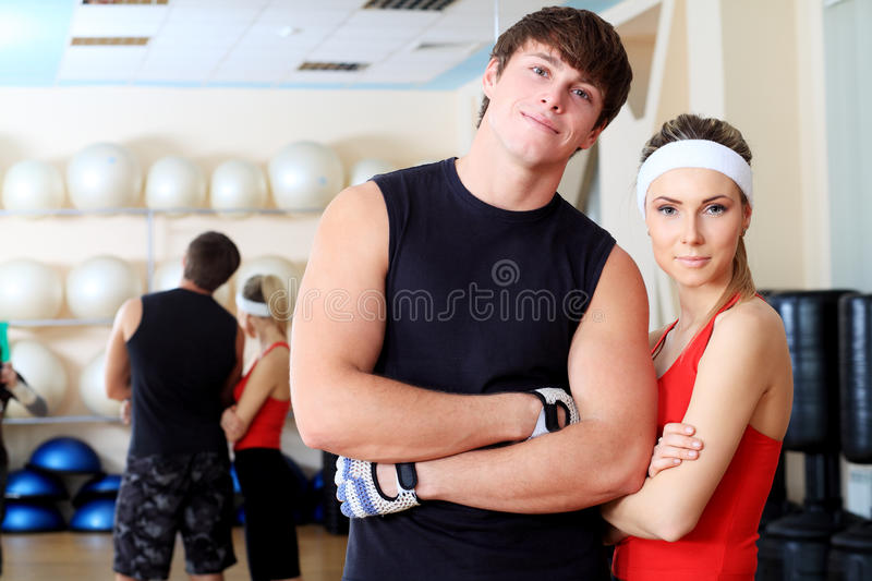 Sport club royalty free stock photography