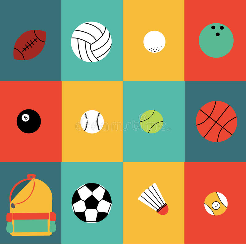 Sport color royalty free stock image