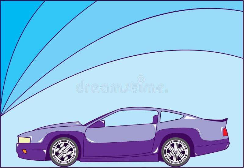 Sport Coupe. Vector illustration clip-art eps vector illustration