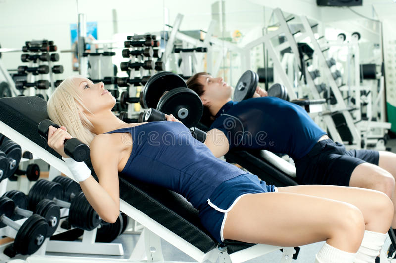 Download Sport couple stock image. Image of beautiful, exercise - 22930405