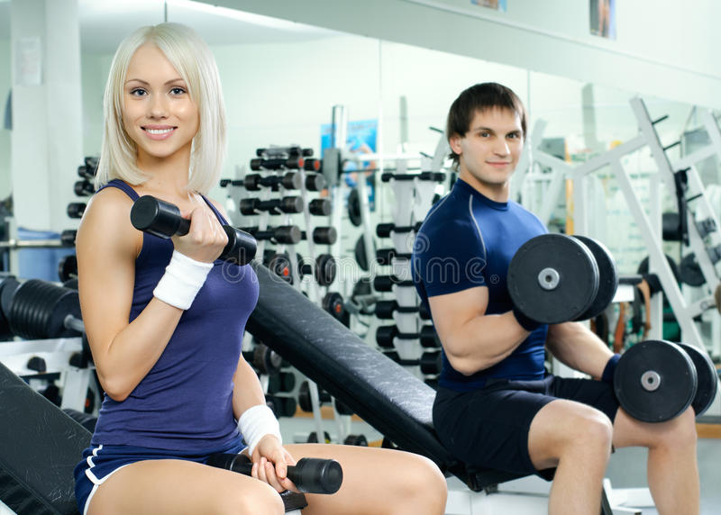 Sport Couple Stock Photography