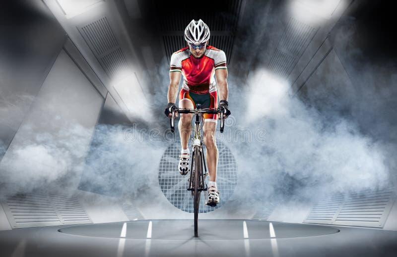 sport cyklist royaltyfria bilder