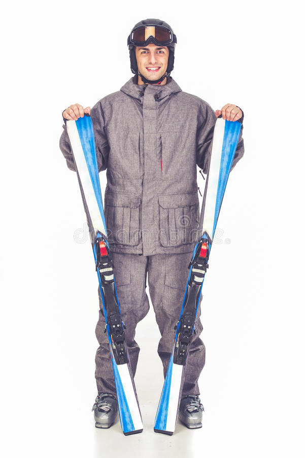 Sport d'hiver, homme photos stock