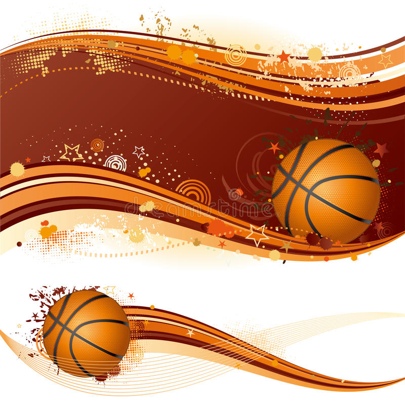 sport de basket-ball illustration de vecteur
