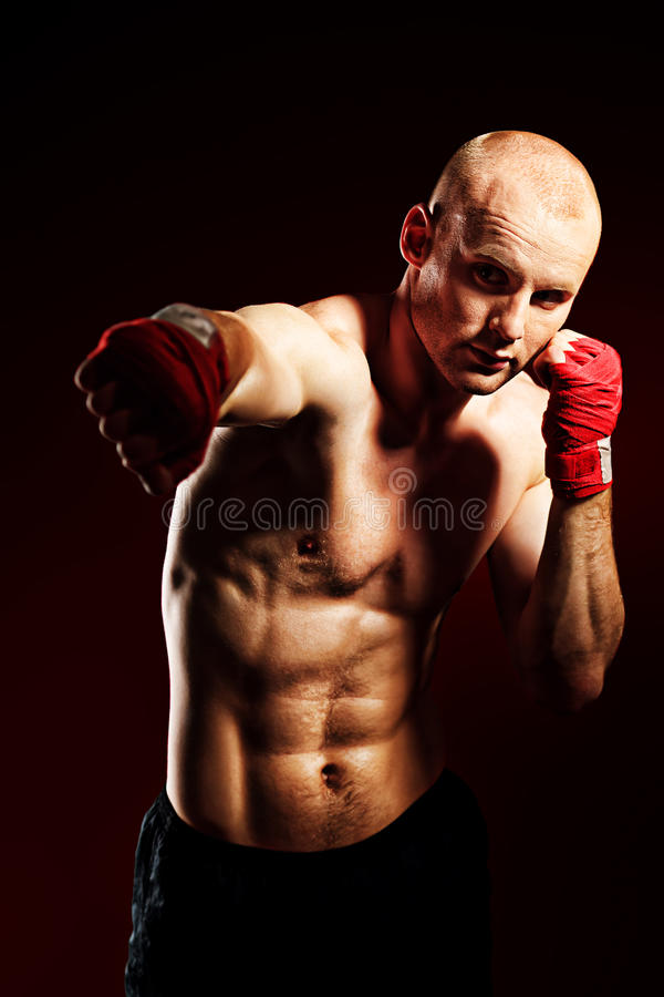 Sport de boxe photographie stock libre de droits