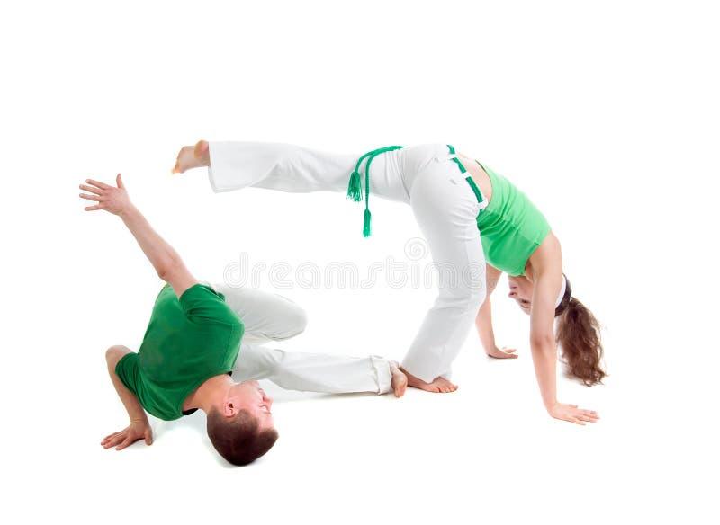 Sport de contact. Capoeira. photographie stock