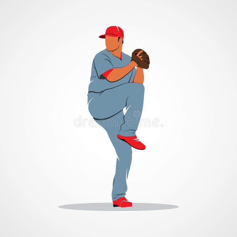 Download Sport De Joueurs De Baseball Illustration de Vecteur - Illustration du dessin, gibier: 77163291
