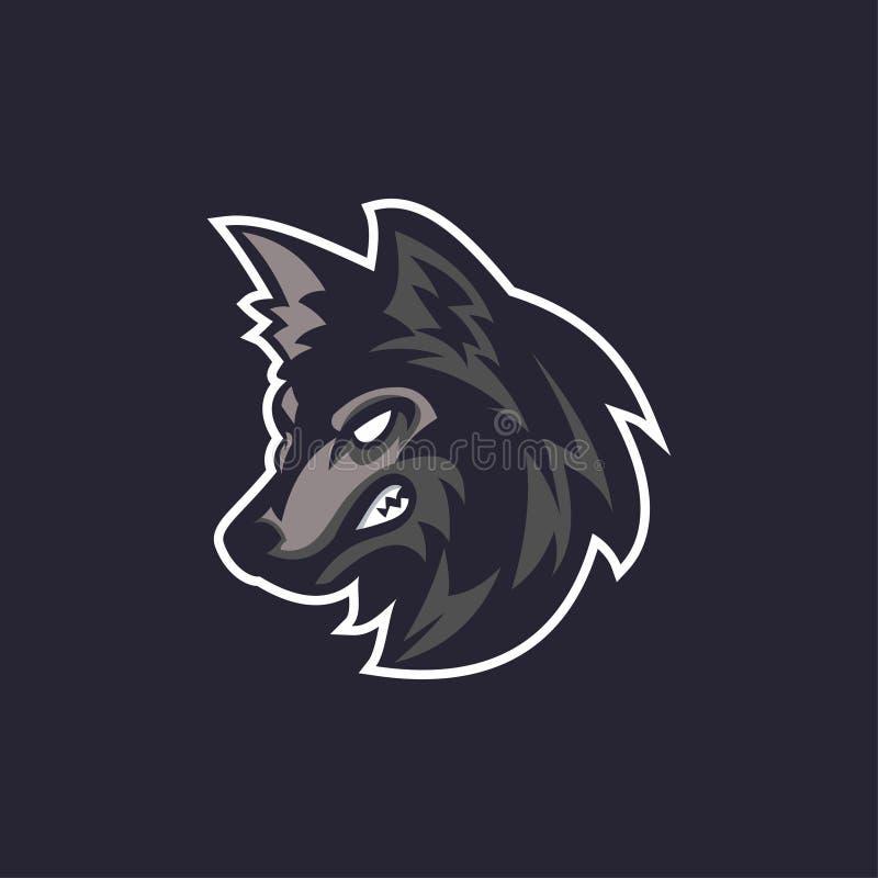 Sport de logo de loups illustration libre de droits