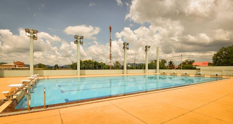 Sport de piscine image libre de droits