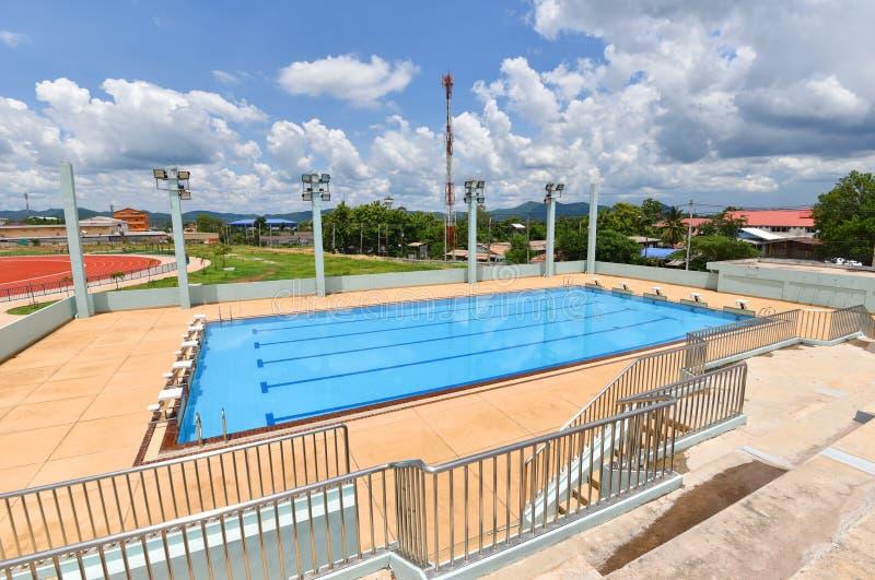 Sport de piscine photo libre de droits