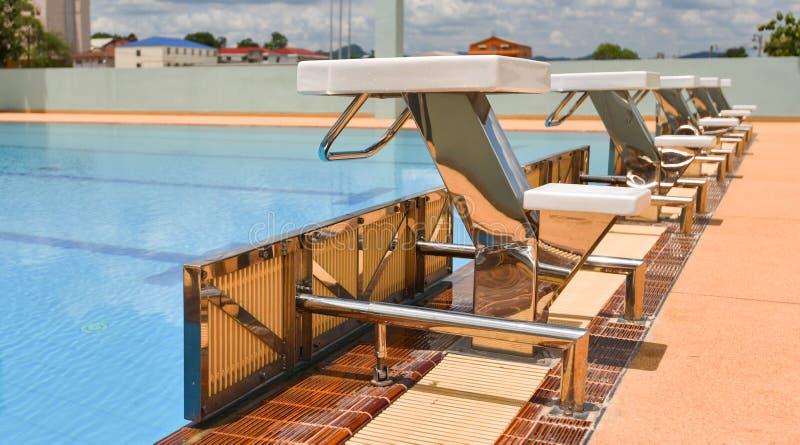 Sport de piscine photos libres de droits
