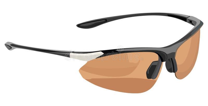 Sport degli occhiali da sole royalty illustrazione gratis