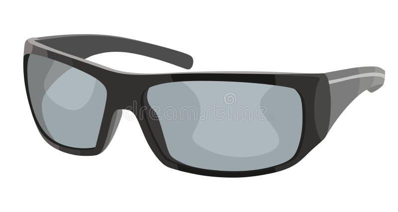 Sport degli occhiali da sole illustrazione vettoriale