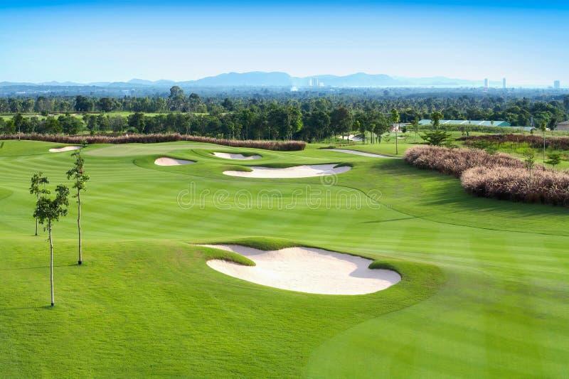 Sport del campo da golf fotografie stock libere da diritti