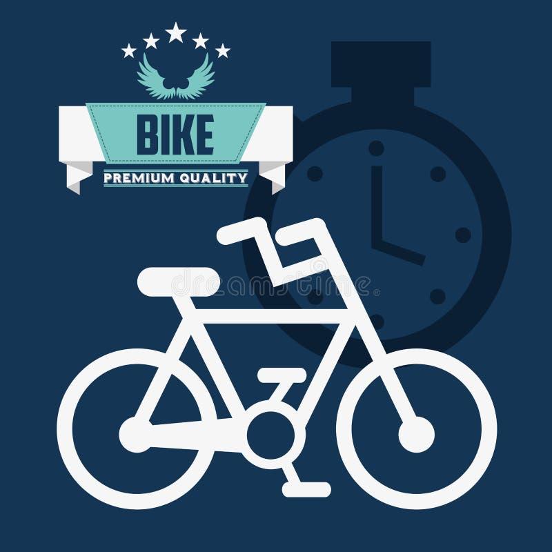 Sport della bici illustrazione di stock