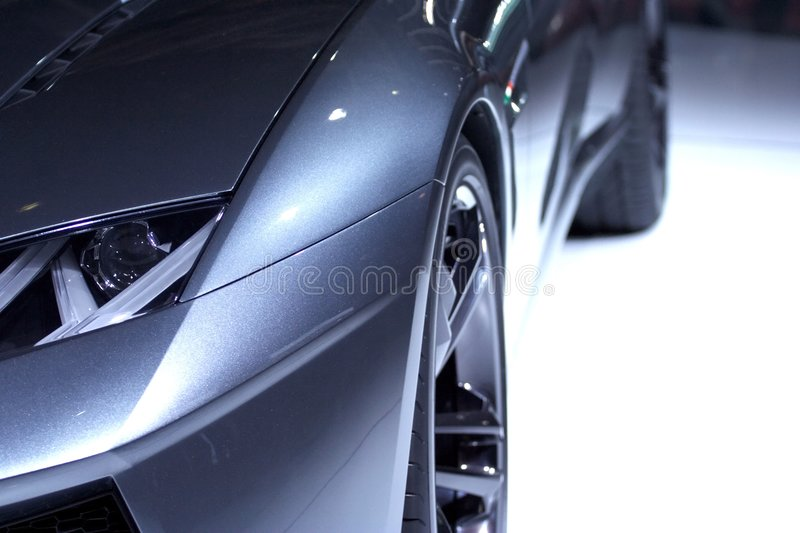 Sport design car royalty free stock images
