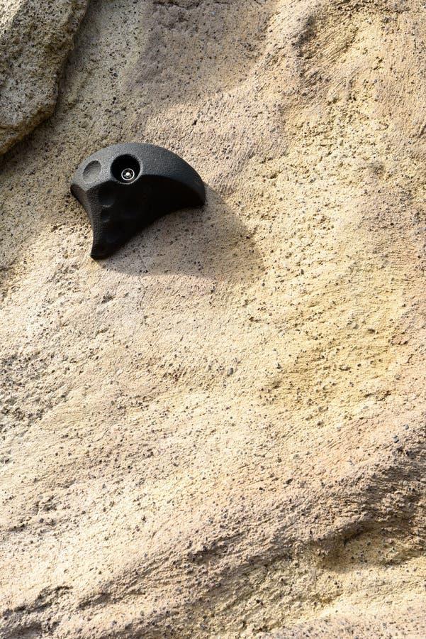 Sport di attività della presa del piede di arrampicata fotografie stock libere da diritti