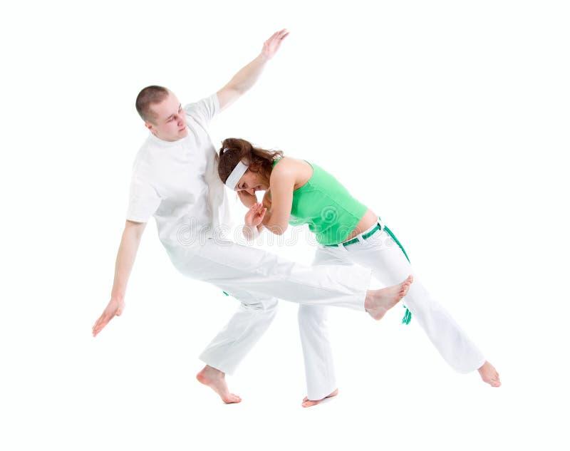 Sport di contatto. Capoeira. immagine stock