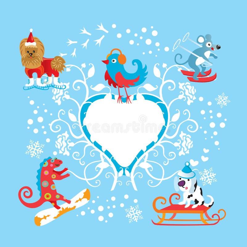 Sport di inverno royalty illustrazione gratis