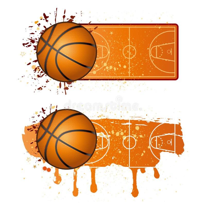 sport di pallacanestro illustrazione di stock