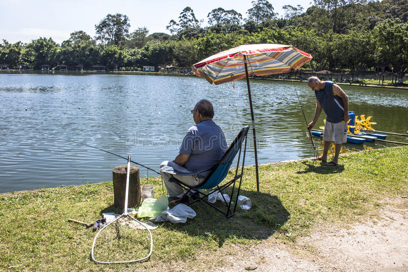 Sport di pesca fotografia stock