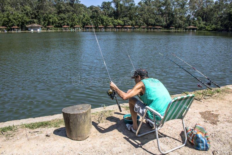 Sport di pesca immagini stock libere da diritti