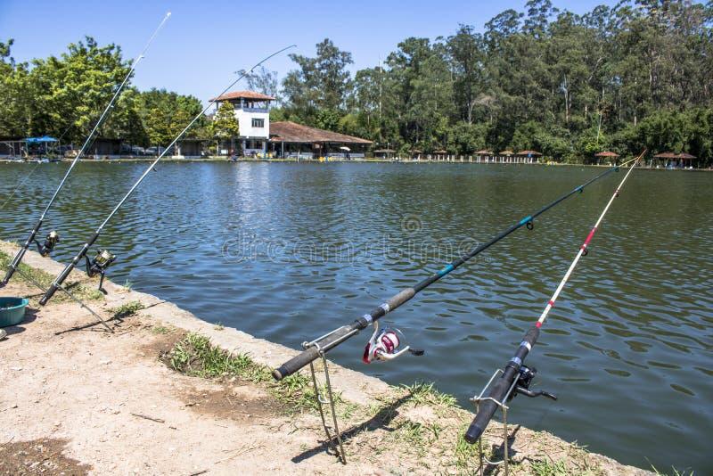 Sport di pesca immagine stock