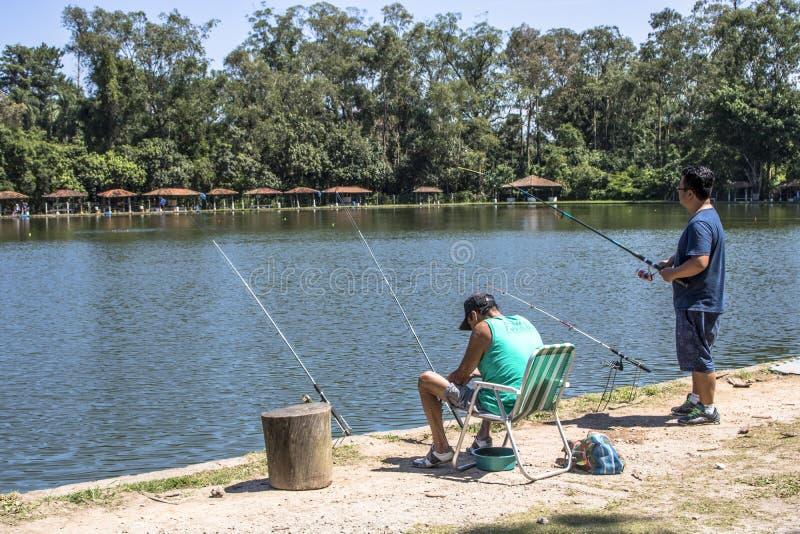 Sport di pesca fotografia stock libera da diritti
