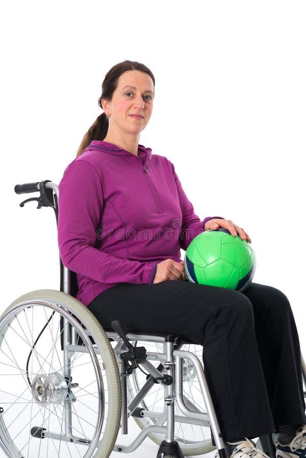 Sport disabili fotografia stock libera da diritti