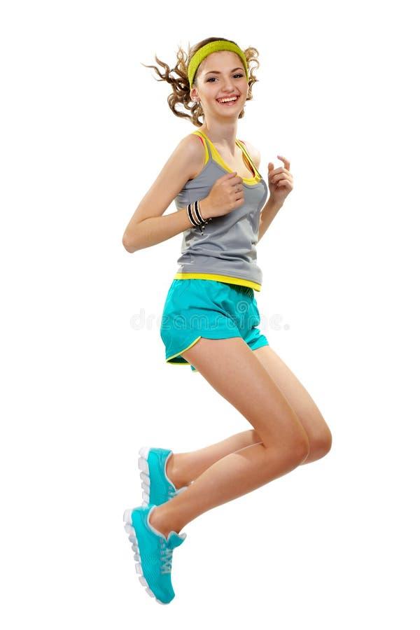 Download Sport Dziewczyna W Skrótach I Koszulce. Zdjęcie Stock - Obraz złożonej z 0, fitness: 28952698