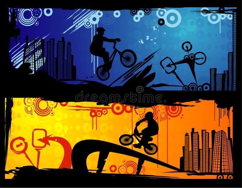 sport ekstremalny wektora ilustracji