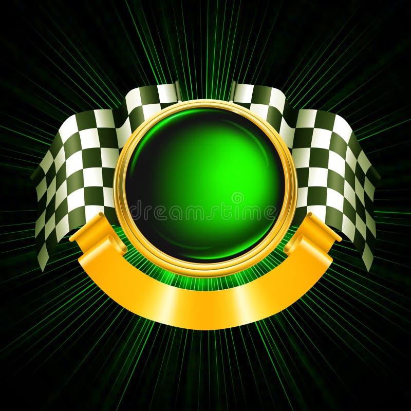 Sport-Emblem stock abbildung