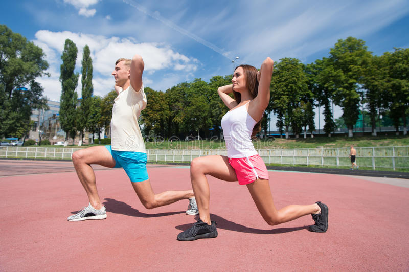 Sport en fitness royalty-vrije stock fotografie