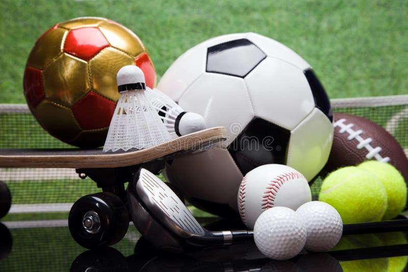 Sport equipment stock photos