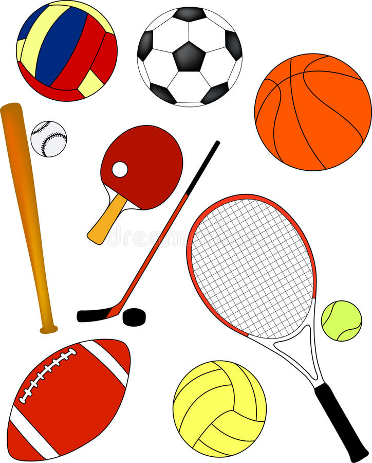 Download Sport equipment - vector stock vector. Image of isolated - 10835418